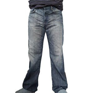 7 FOR ALL MANKIND Relaxed Button Fly Jeans 33